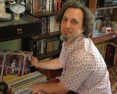Rob Weisberg of WFMU's Transpacific Sound Paradise.