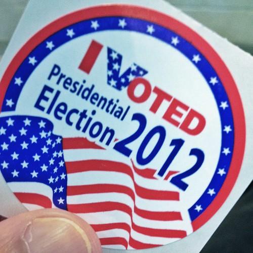 Monday Musing: Bold Prediction 2012 Election