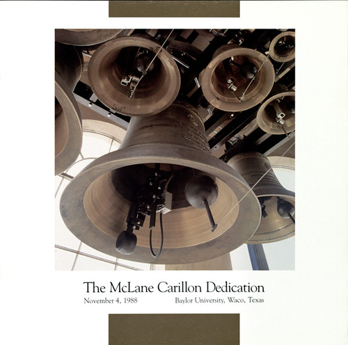 McLane Carillon dedication program cover, 1988