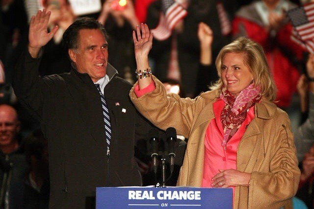 Mitt and Ann Romney Colorado