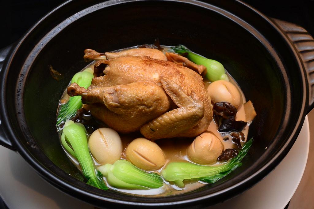 台北君悅正宗寧波料理 - 甬式燒全雞