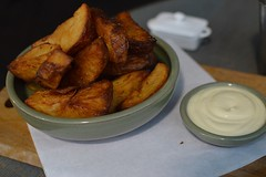 Cuckoo Callay: Triple fried chips and aioli