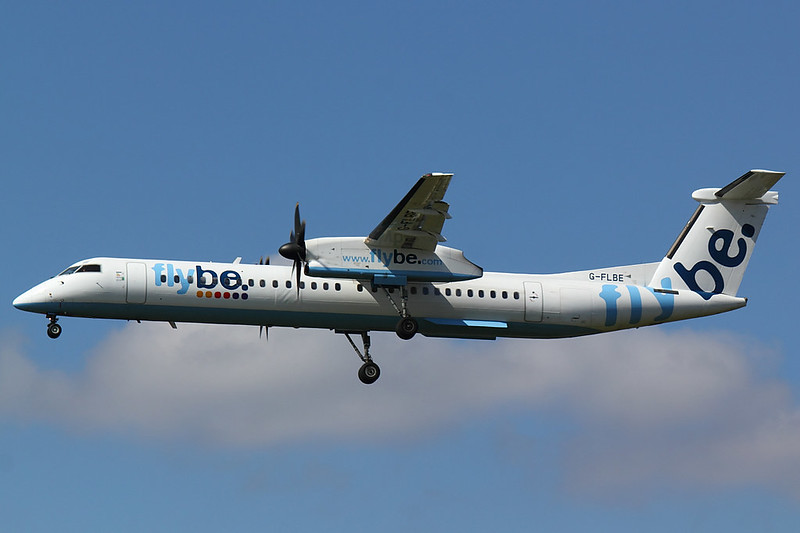 FlyBe - DH8D - G-FLBE (1)