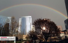 Bellevue rainbow - photo by peter marsh | Bellevue.com