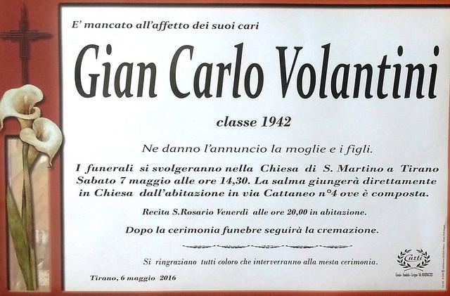 Volantini Gian Carlo
