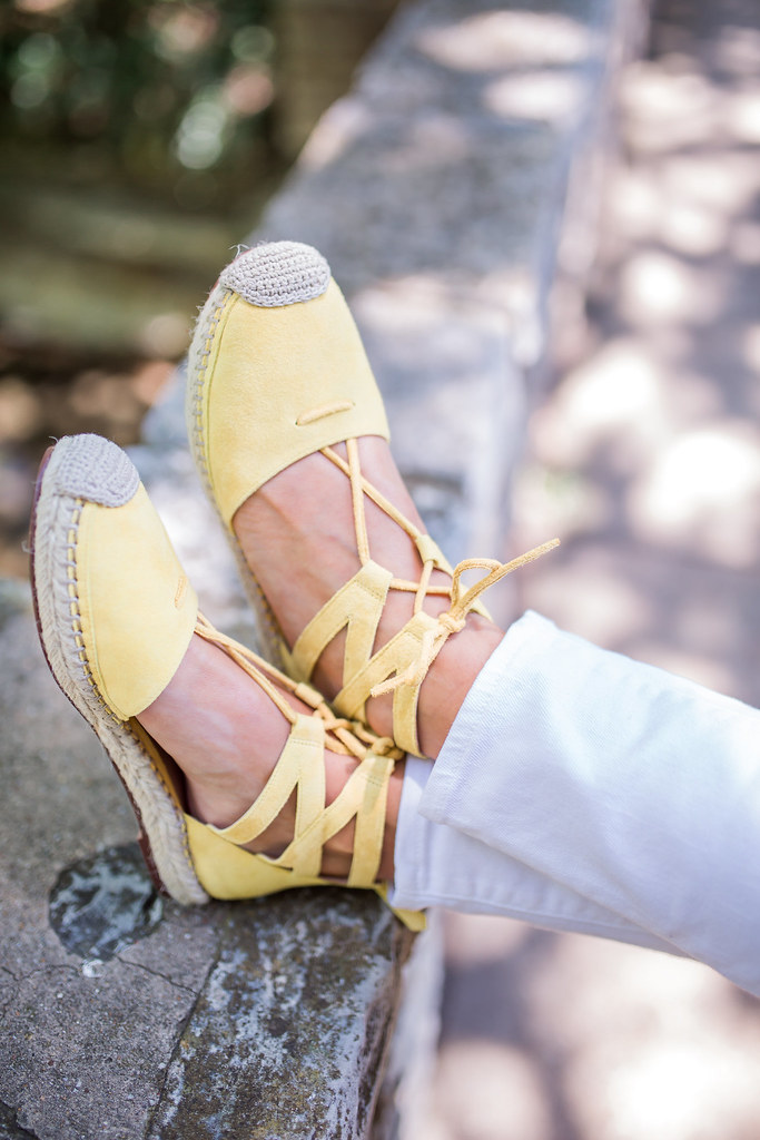 Hi Sugarplum | Yellow Espadrilles