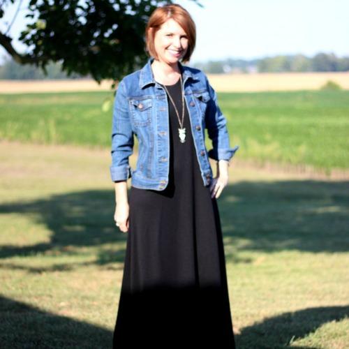 Simplicity 1358 Maxi Dress