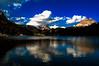 Lake Misurina and Tre Cime di Lavaredo.