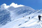 Italien Sizilien, Skitour Vulkan Ätna. Foto: Dr. Thomas Hochholzer.