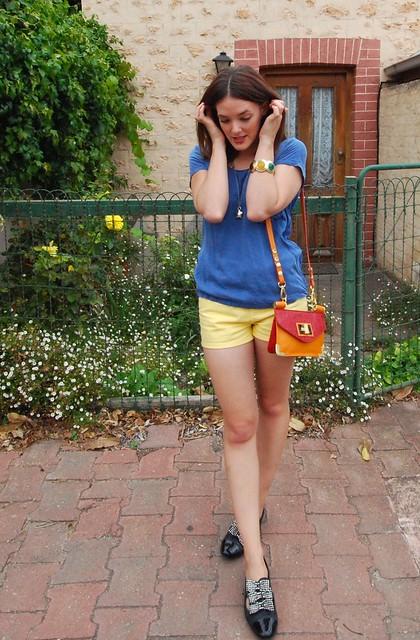 Shorts Blue 2