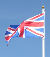 Flag over Alton