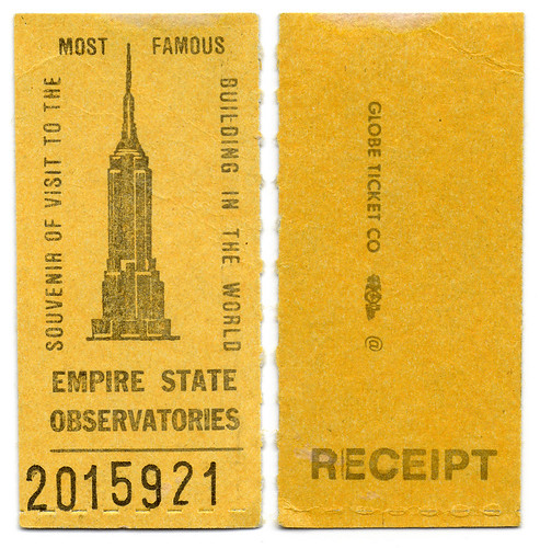 EmpireStateBuildingTicketEphemera