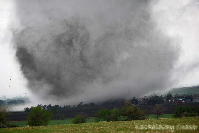 Tornado near Salina, Kansas 4-14-2012
