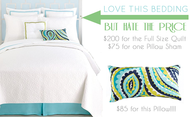 Guest Bedroom Bedding from Macys