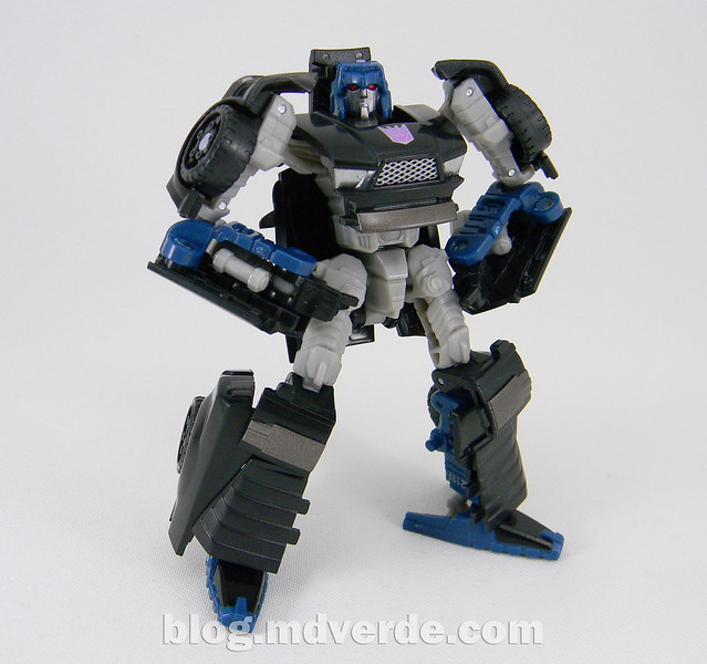 Transformers Wipe-Out Scout - United - modo robot