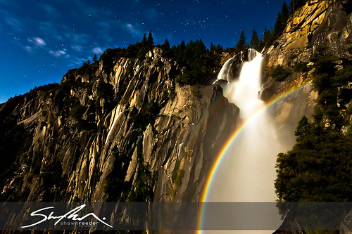Cascade Falls Moonbow