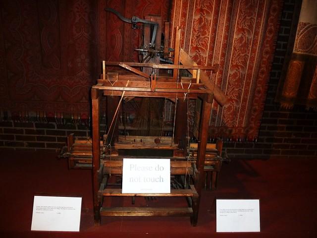 Weaving Loom, Paisley Museum