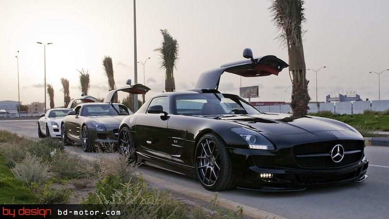 Mercedes Benz SLS x3 By Design Saudi Arabia 021.jpg