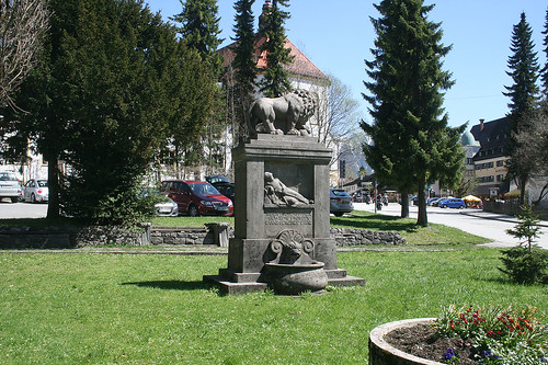 Kriegerdenkmal am Kloster Ettal