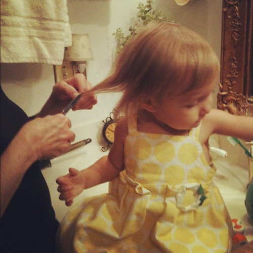 Sophia's First Haircut