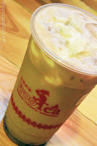 Red Bean Milk Tea with Rock Salt & Cheese P100
