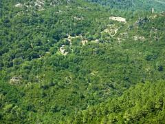 Hameau de l'Agnu depuis le sentier Cuccuracciu - Bocca di Cateri