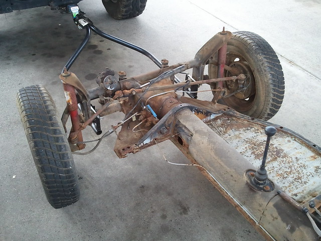 1968 VW Beetle chassis