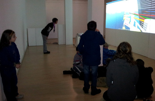 SynchroniCity_ installation interactive / festival Videoformes
