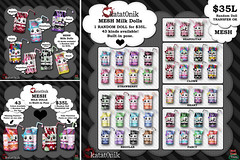 *katat0nik* (43 colors) Milk Doll Gacha @ Starlust!