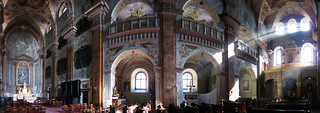 Slovakian Church Interior panorama
