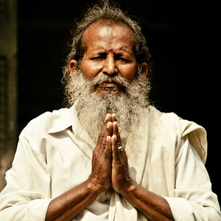Man in Chennai