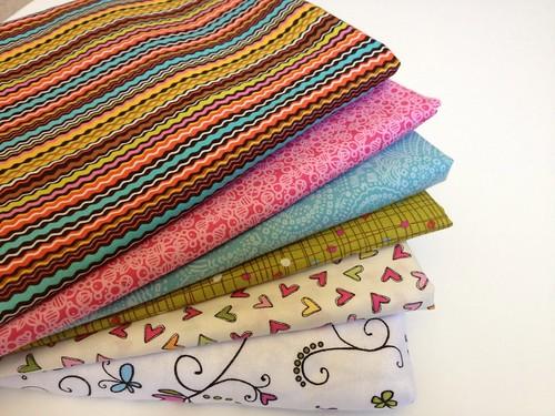 James Baby Quilt Fabrics