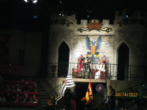 Medieval Times - See the double-headed eagle?