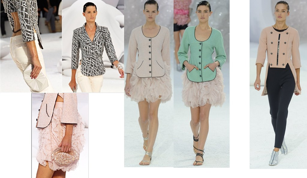 Chanel shrug jacket sp 2012