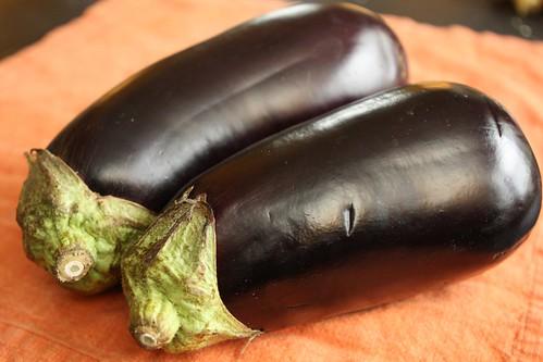Twin Eggplants