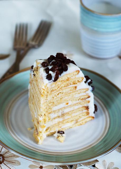 honey cake, АБКМ, торта, козе мляко, сметана, козя, сладкиш, anti-allergy cake