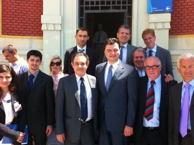 Delegazione Provincia di Firenze in Viaggio istituzionale in Albania