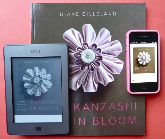 Kanzashi In Bloom as an Ebook: how did it translate?