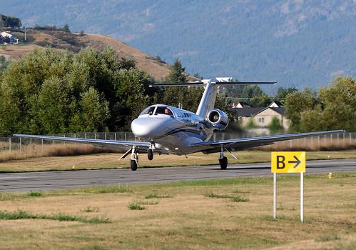 airplane jet vernon takeoff cessna citation cglbt