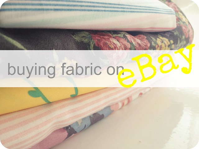 how to buy fabric on ebay