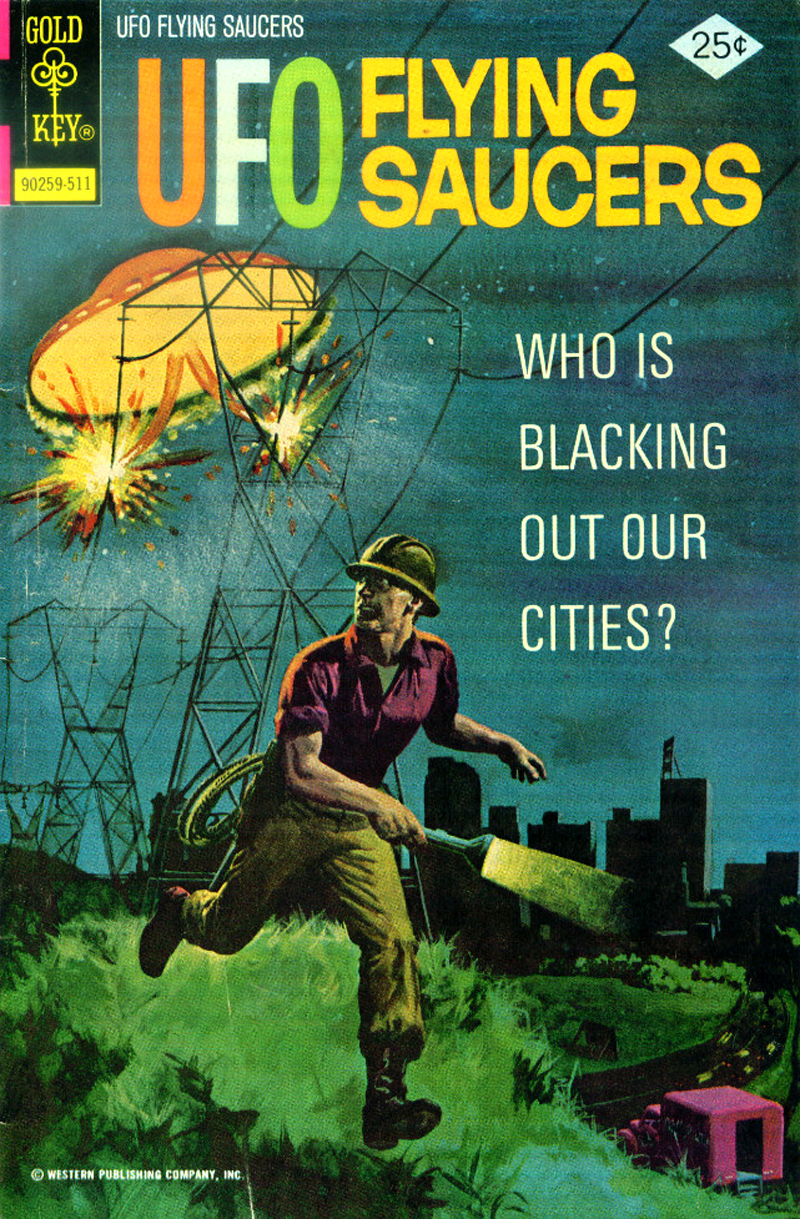 UFO Flying Saucers #8 (Gold Key, 1975)