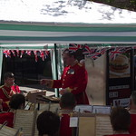 Mercian Regiment Band Play In Tunstall