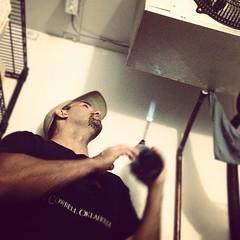 This Is How We Fix Fridges #fridge #blowtorch #diy