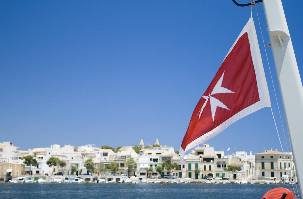 Flag in Porto Colom - Mallorca