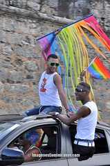 La Delfy en la Marcha Orgullo Gay Santo Domingo 2012