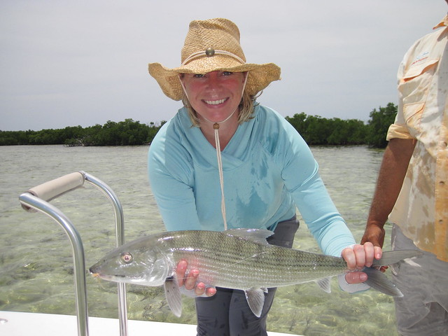 bonefishing in cayo largo