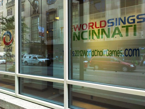 World Choir Games signage