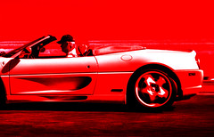 model car(0.0), ferrari f50(0.0), ferrari 360(0.0), race car(1.0), automobile(1.0), vehicle(1.0), automotive design(1.0), ferrari f355(1.0), land vehicle(1.0), luxury vehicle(1.0), supercar(1.0), sports car(1.0),