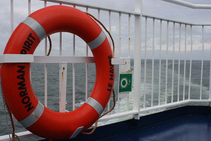 Ferry to Calais