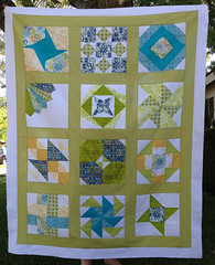 Sea Glass Quilt Top